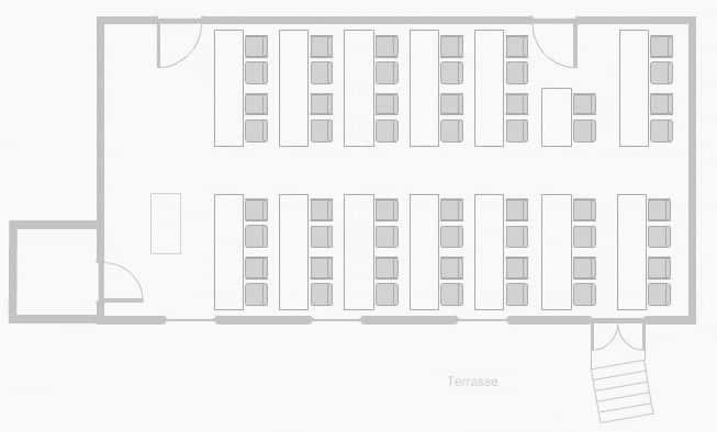 Dorotheensaal – Parlament (Beispiel)