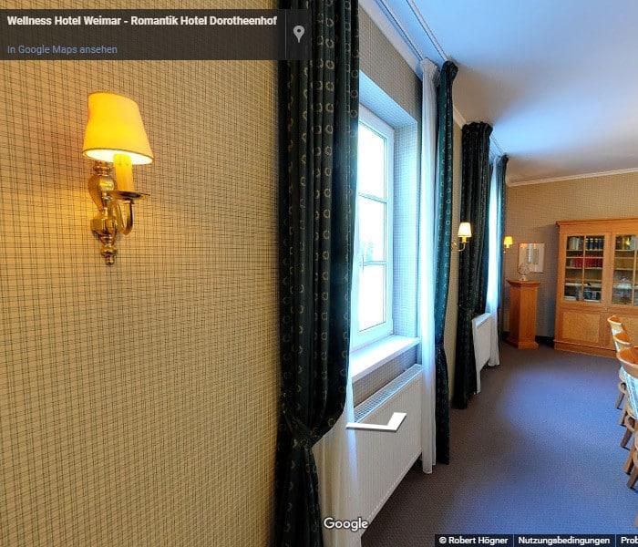 360 Grad Barrierefreies Zimmer