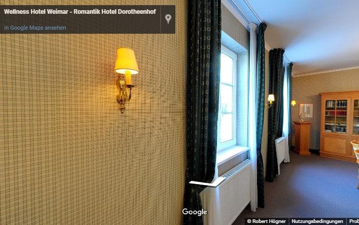 360 Grad Einzelzimmer
