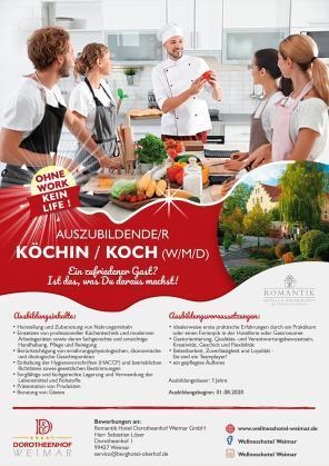 Auszubildende/r Köchin / Koch (w/m/d)