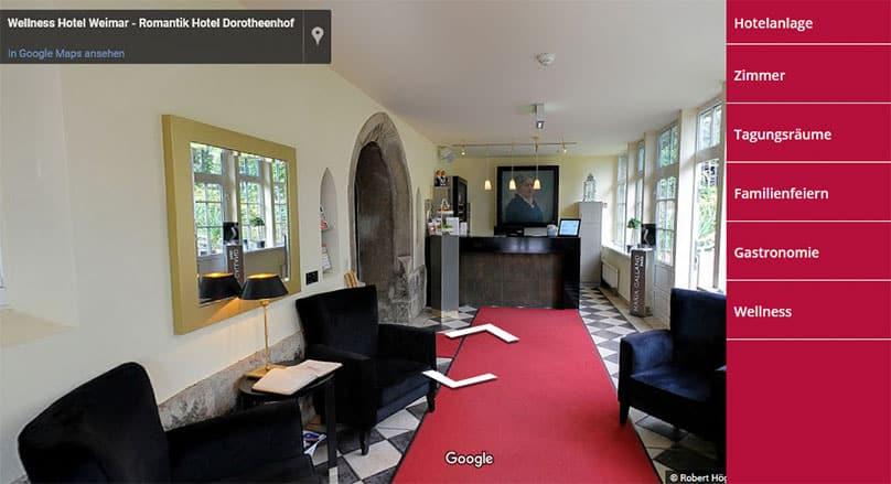 Der Dorotheenhof Weimar in 360 Grad