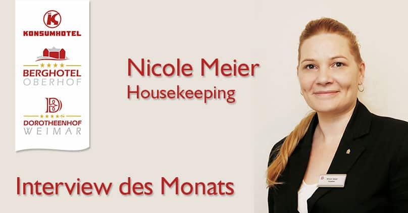 Interview des Monats - Mit Nicole Meier